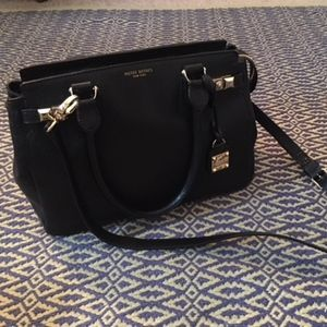 Gorgeous Henri Bendel Carlyle Satchel in Caviar